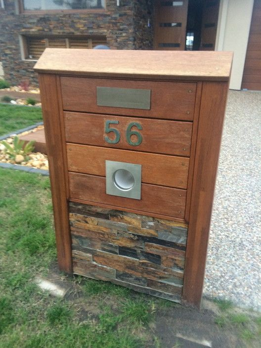wooden letterbox design - Google Search