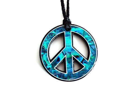 Paua World - Peace Pendant, $29.90 (http://www.pauaworld.com/peace-pendant/)