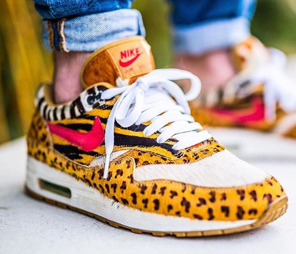 Nike Air Max 1 Supreme x Atmos 'Animal Camo Leopard