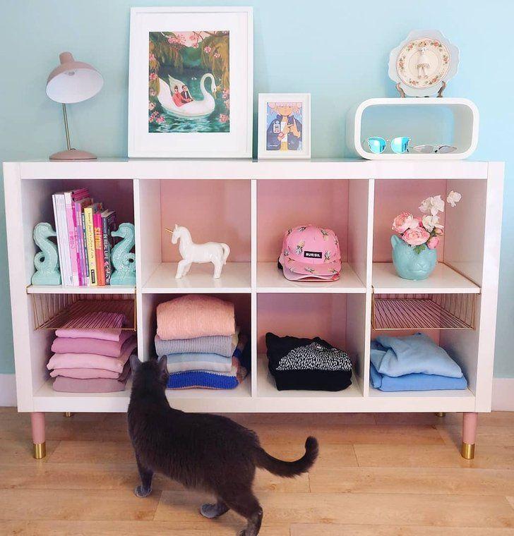 Ikea Kallax Shelves Around