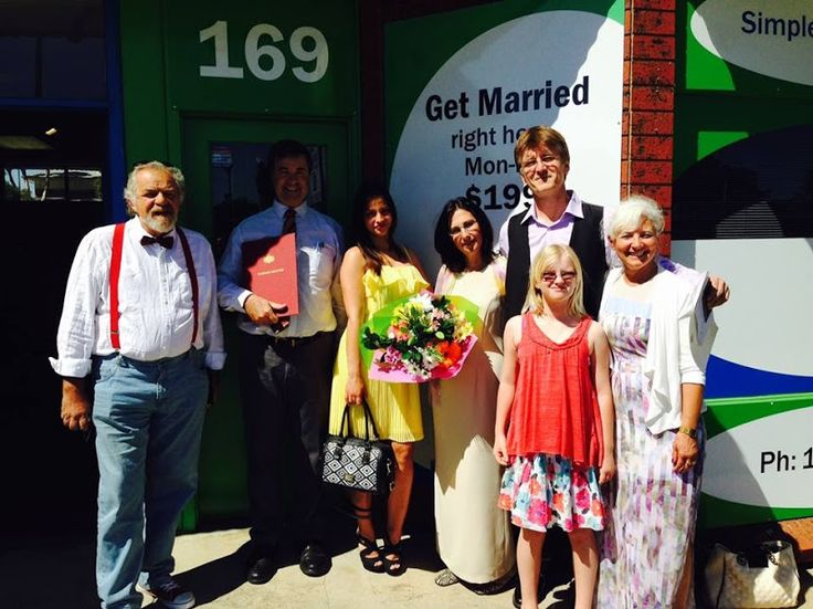 Congratulations to Andrew and Dragana, married at Simple Weddings office just 10 minutes from Adelaide CBD!  Looking to hire Christopher Steele - the famous Adelaide marriage celebrant? Phone 1300 668 459  #adelaidecelebrant #marriagecelebrant #weddingcelebrant #civilcelebrant #bestcelebrant #hirecelebrant