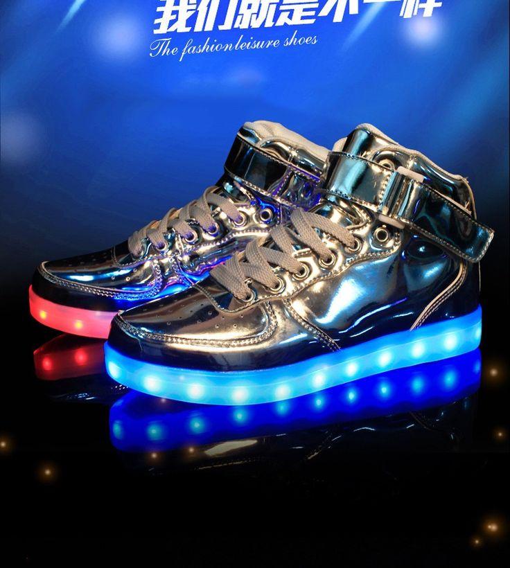 Tênis Botinha Luminoso C/led Fashion 2016 - R$ 269,00