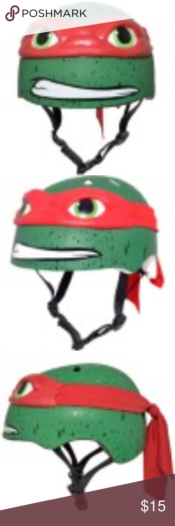 Nickelodeon Teenage Mutant Ninja Turtles Gender Male  Brand Teenage Mutant Ninja Turtles Sport Bicycling  Age Range 5 to 8 Years  Age Group Child Assembled Product Weight 2.27 lb  Assembled Product Dimensions (L x W x H) 8.27 x 6.50 x 6.50 Inches- Raphael 3D Bike Helmet, Other