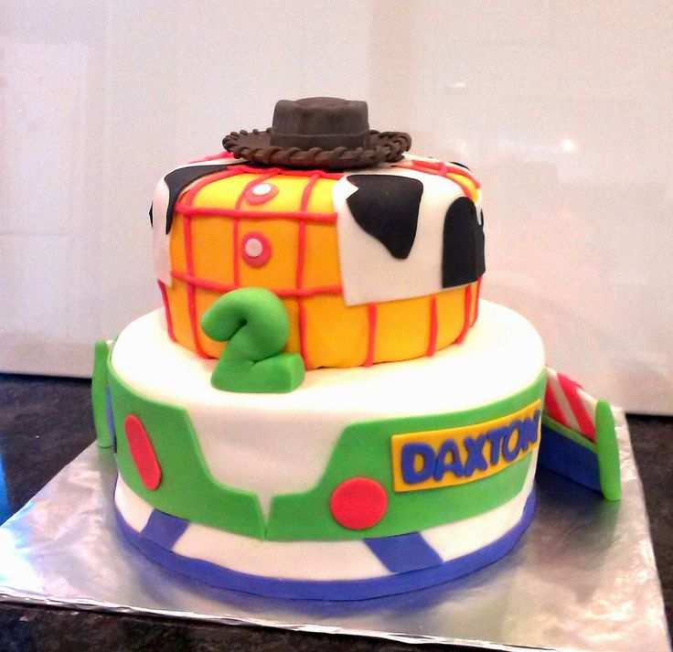 Buzz And Woody Cake Designs