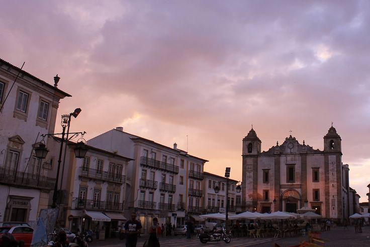 Praça do Giraldo, Évora 2014