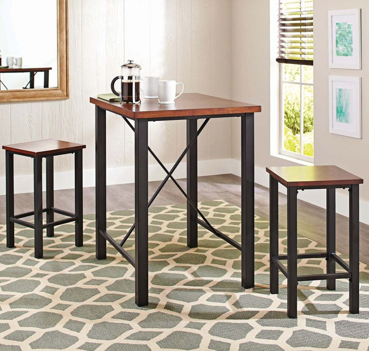 Need extra seating in your TV room? Add the Mercer Pub Set to your shopping list!