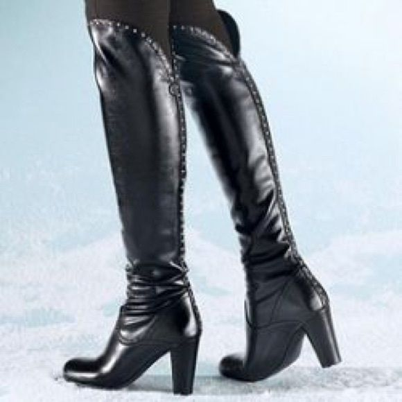 franco sarto cupid boots amazing detail the back of