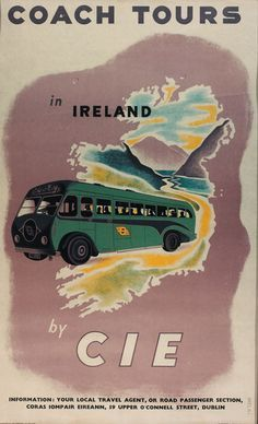 Coach Tours in Ireland by CIE