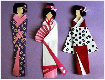 Geisha bookmarks