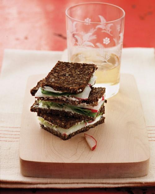Radish Tea Sandwiches | Recipe