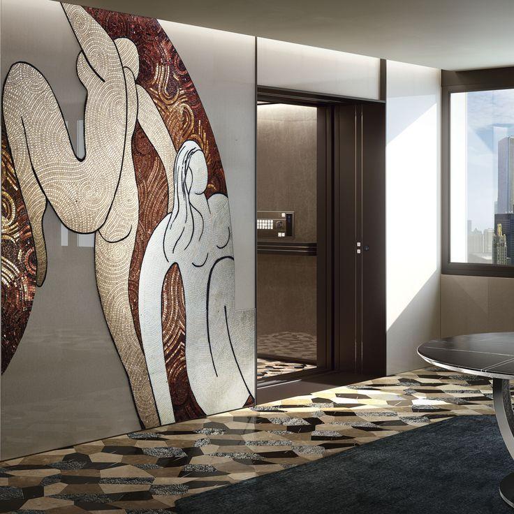 Vetrite and mosaic #sicis #vetrite #mosaic #luxury #interiordesign
