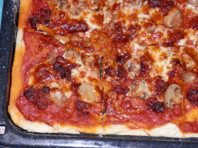 Pizza ibérique