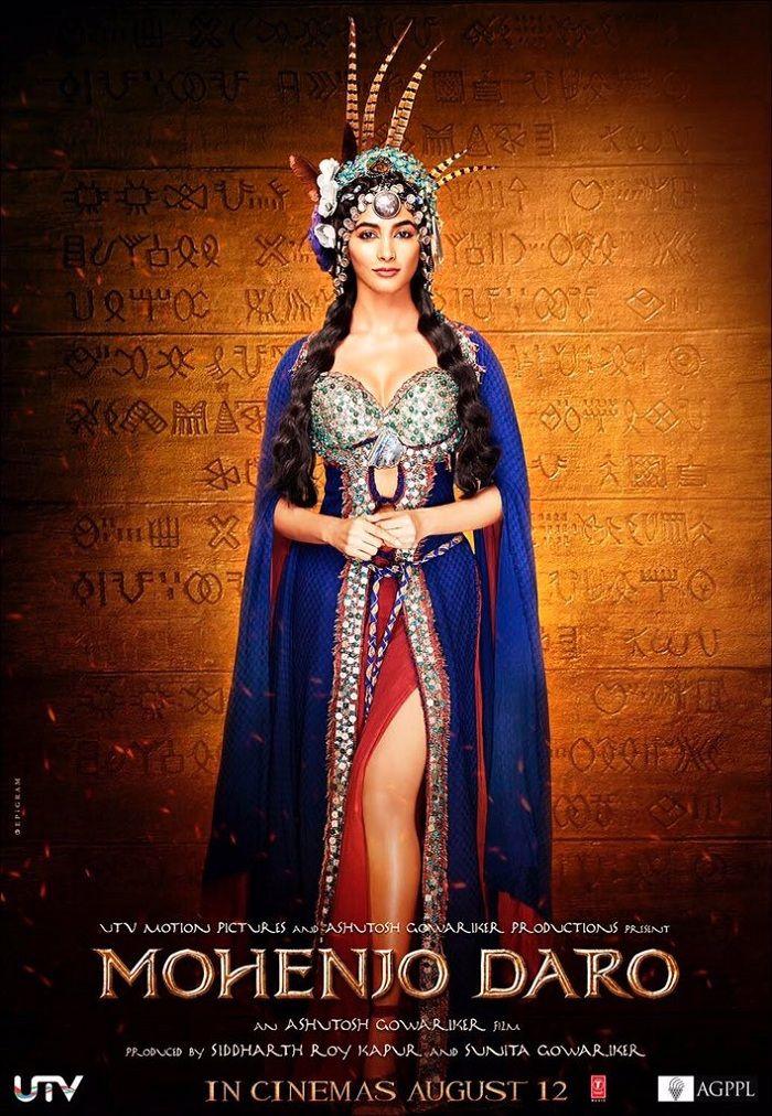 Mohenjo Daro Poster - Pooja Hegde