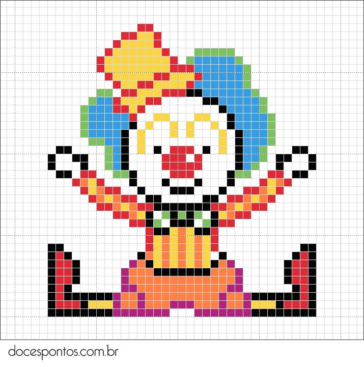Clown / Bügelperlen