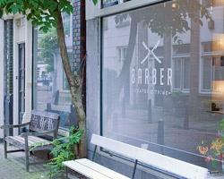 La classe: Transom Windows, Barbers Amsterdam, Barber Shop, Barbers Shops, Windows Display, Salons, Design, Ard Hoksbergen, Barbershop Exterior