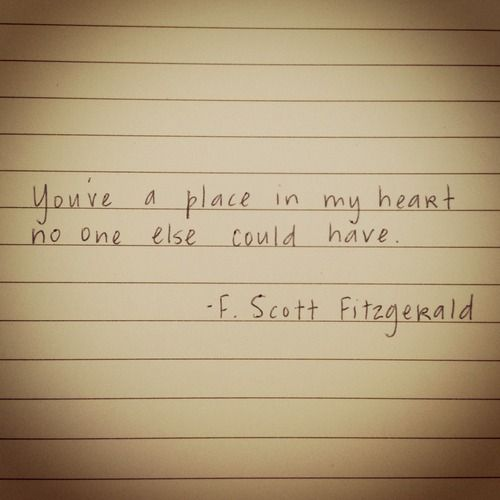 scott fitzgerald love quotes - Google Search