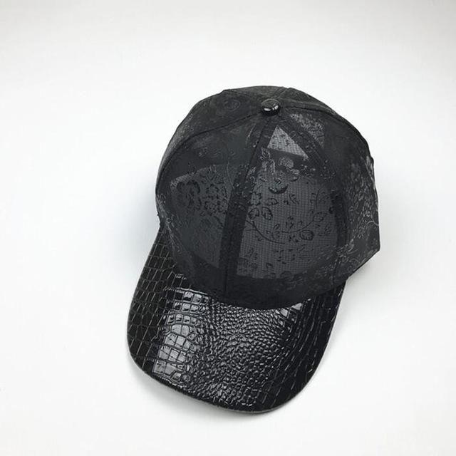 8a0a18050ed oZyc Summer Cool Fold Mesh Trucker Baseball Caps snapback Breathable Hat  Adult Men Women Casquette New Cap hip hop hats