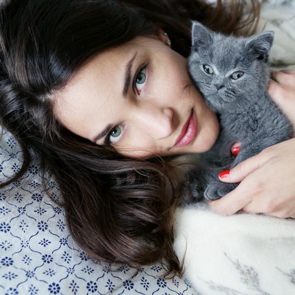 Maria Duenas Jacobs' cat, Frankie