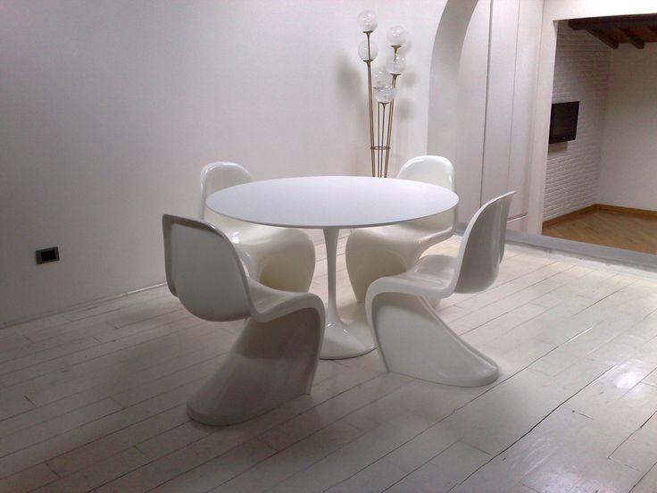 Oltre 25 fantastiche idee su sedie per tavolo da pranzo su for Sedie per tavolo tulip