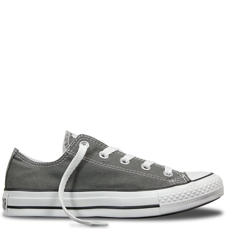 Chuck Taylor All Star Classic Colour Low Charcoal   Free Shipping *   Buy authentic sneakers direct from Converse