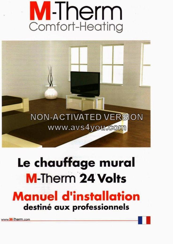devis travaux en ligne ronchamp: Le chauffage mural M-THERM 24VOLT