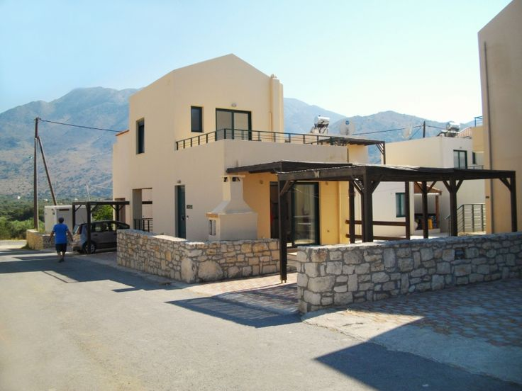 House in a resort close to Georgioupolis, Chania, Crete, Greece