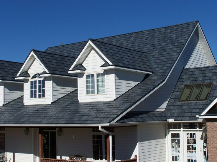 Metal Shingle Roofing Maintain the traditional shingle