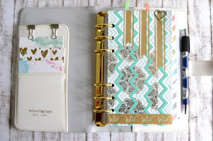 Planner-Setup - Webster's Pages Color Crush - ~ kaffeeliebelei ~