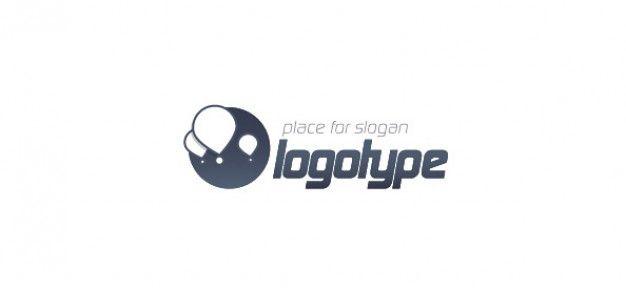 воздушный шар логотип вектор шаблон для блога Бесплатные Psd