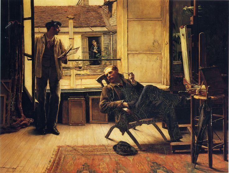 William Henry Bartlett - The Neighbours [1881]