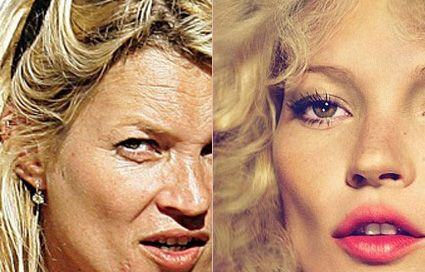 12 incredible before and after airbrushed celebrity GIFS ...