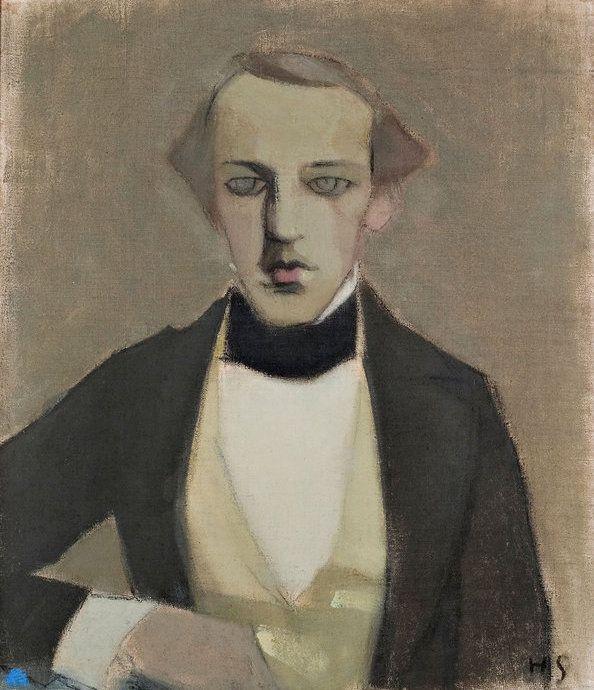 Helene Schjerfbeck (Finnish, 1862–1946) My Father II, 1943