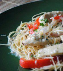 Best 25 chicken scampi recipe ideas on pinterest chicken scampi recipe like olive garden for Chicken scampi olive garden calories