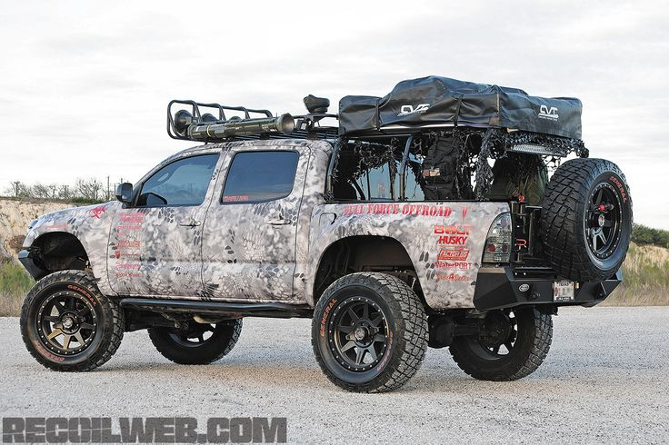 Preview Transport Toyota Tacoma War X Four image
