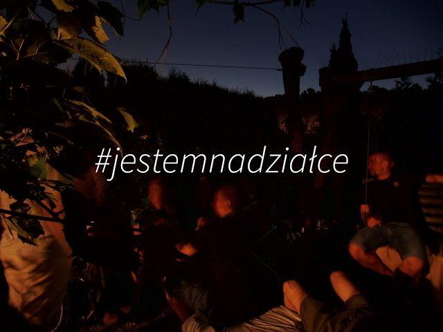 Loosly translated: I'm on the plot ;) #jestemnadziałce #kiełbasawiejska
