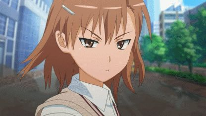 """Do not mess with Misaka Mikoto from """"A Certain Scientific Railgun""""  ;^p"""