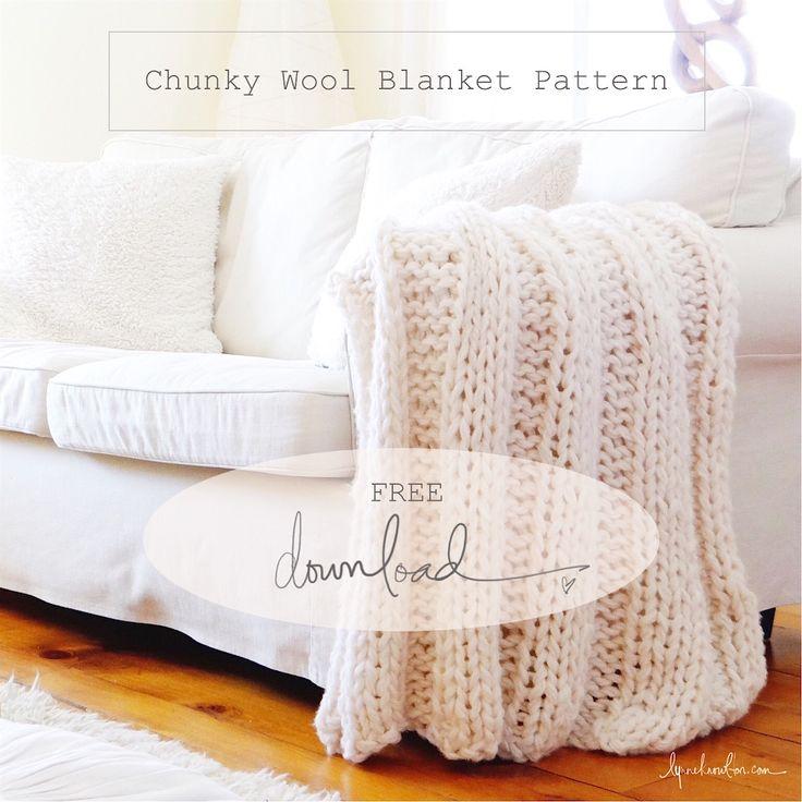 Knitting Pattern Using Chunky Yarn : 1000+ ideas about Chunky Wool on Pinterest Arm knitting yarn, Knitting wool...