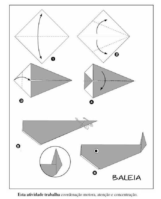 5 diagramas para hacer animales de papiroflexia | Manualidades en ...