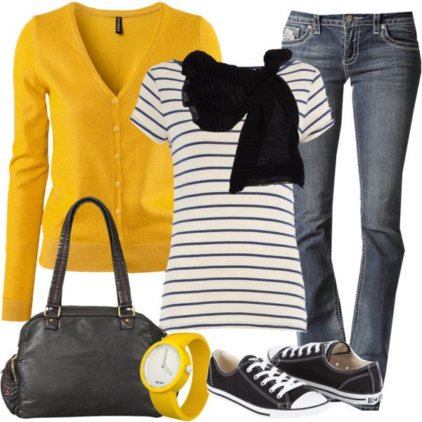 Fall Makes Me Happy: So Does Converse! - Polyvore