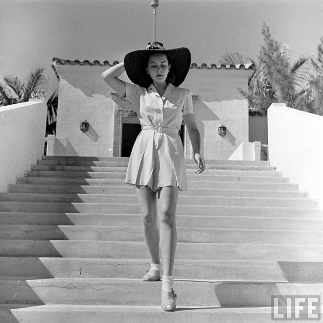 Miss Moss : Miami Beach, 1940 -- These sun outfits are as cute now as they were in 1940.  I just love them.