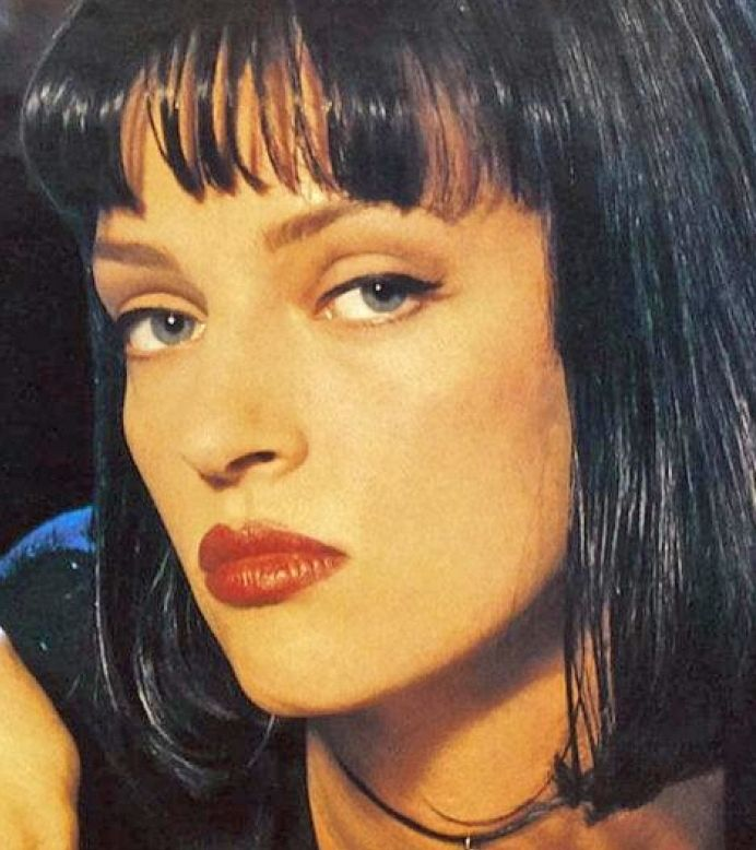 Pulp Fiction - loved her look in this movie.                                                                                                                                                                                 More