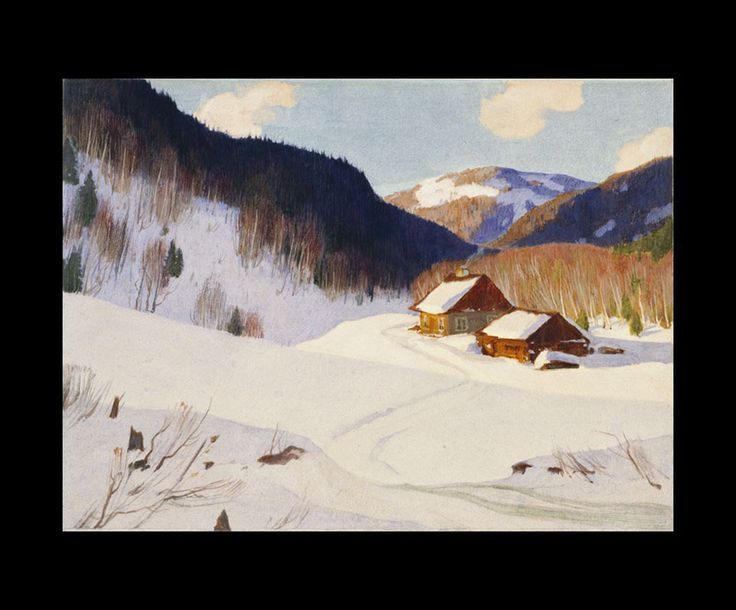 Clarence Gagnon (1881 - 1942), The Chapdelaine Farm, 1928 - 1933