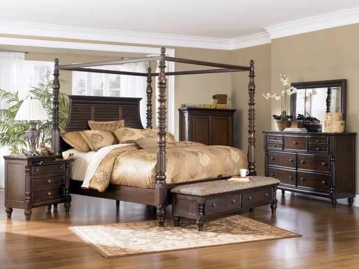 Affordable King Size Bedroom Sets Four Poster