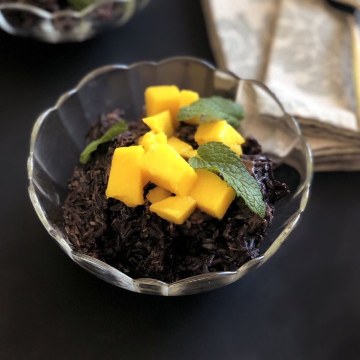 Fragrant Tropical Black Rice Pudding from the Instant Pot ...