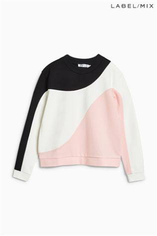 Mix/Caitlin Price Panelled Sweatshirt