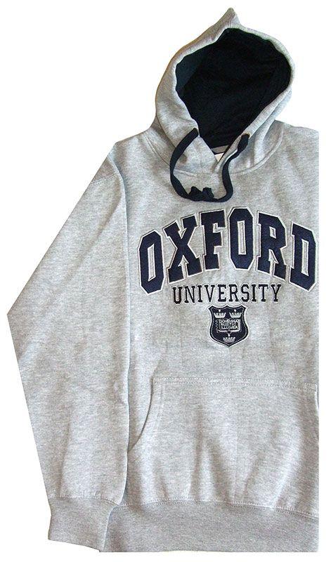 Oxford University Applique Stitched Hooded Sweatshirt http://www.varsityshop.co.uk/cgi-bin/ca000001.pl