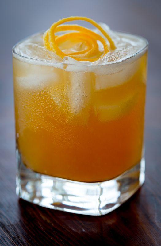 maple meyer lemon whiskey sour #reciperedux