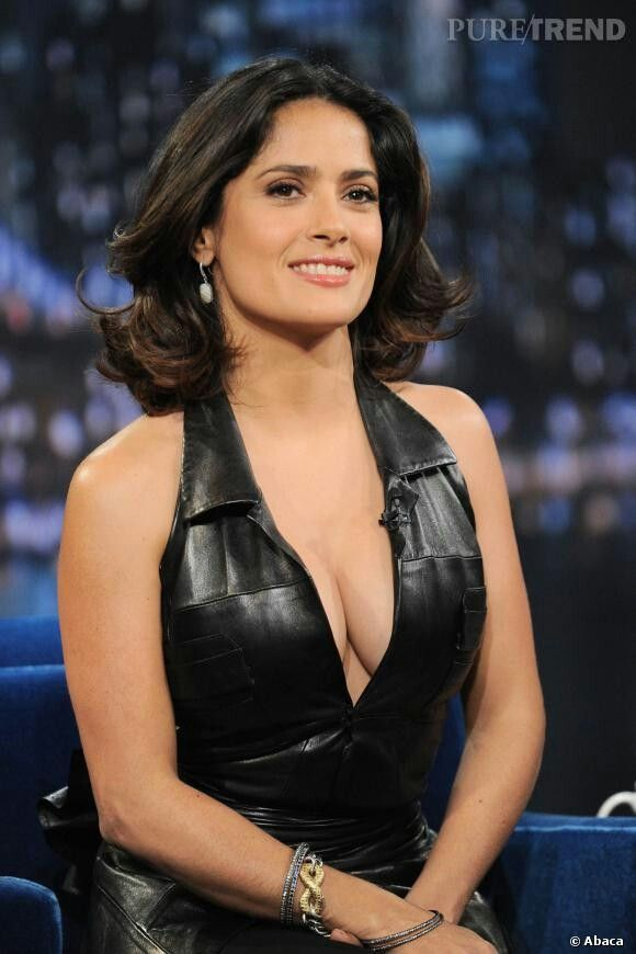 Salma Hayek Pinault. Mexican & American actress,producer and former model. 02/09/1966.