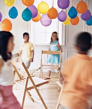 party games for childrens parties