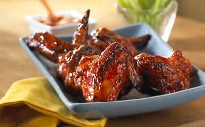 You can make these wings as hot and spicy as your taste buds can take. The rich tomato taste of Heinz® Ketchup will still shine through.